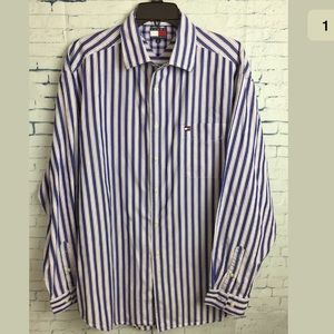 Mens Tommy Hilfiger Button Down Shirt Size large